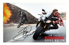 TOM CRUISE AUTOGRAPHED SIGNED A4 PP POSTER PHOTO