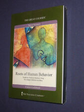 Teaching Co Great Courses  DVDs         ROOTS OF HUMAN BEHAVIOR       new sealed
