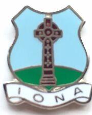IONA Scotland Small Enamel Lapel Pin Badge (T046)