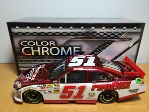 2012 Kurt Busch #51 Phoenix Racing Chevrolet Color Chrome 1:24 NASCAR Action MIB