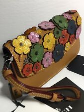 23535 Coach Clutch in Glovetanned Leather with Rainbow Tea Rose Applique, 1941