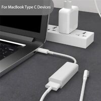 White TYPE USB-C TO MAGSAFE2 ADAPTER CHARGING CABLE FOR MACBOOK'PRO 12/13/15INCH