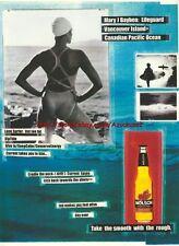 "Molson Beer ""Mary J Bayben"" 1999 Magazine Advert #2285"