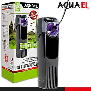 Aquael Unifilter 500 UV Power Algen Reiniger Innenfilter Aquarium Fische Wasser