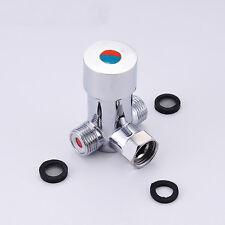 Automatic Sensor Faucet Hot & Cold Water Temperature Mixer Mixing Valve