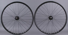 H + Plus Son Archetype Black rims Track Fixed Gear Bike Wheelset DT Competition