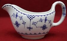 FURNIVALS china DENMARK blue pattern GRAVY BOAT