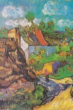 Vincent Van Gogh Houses at Auvers 1890 Art Print Poster 12x18