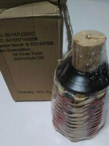 Sunjoy Oil Vines Tabletop Torch Wicker Torch