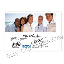 Hawaii Five-0 season 5 cast - Alex O'Loughlin, Scott Caan, D. Kim - Autogramm