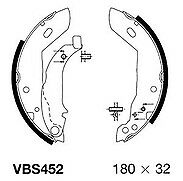 Peugeot 205 Petrol & Diesel 83-95 Rear brake Shoes (lucas brakes)