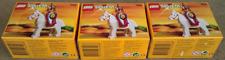 3 Lego Sets 6008 Royal King. Castle 1995. New Sealed.