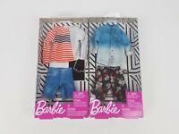 Barbie Ken Fashion Shirt & Pants clothing packs lot of 2