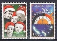 Ned. Antillen postfris 1999 MNH 1296-1297 - Decemberzegels