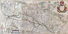 Reproduction carte ancienne - Alsace 1663