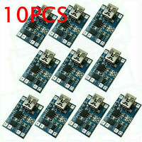 10x TP4056 1A Micro USB Charger Modules 5V 18650 Lithium Battery Charging Board