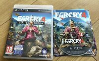 FAR CRY 4 LIMITED EDITION FOR SONY PLAYSTATION 3 (PS3) By UBISOFT VGC QUICK DEL