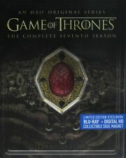New Game of Thrones Season 7 Seven Dragonstone Red Steelbook (Blu-ray + Digital)