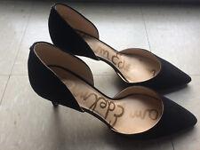 women's designer heels Sam Edelman black size 10