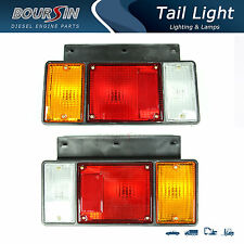 1987-2013, tail light fit isuzu npr nqr nrr fsr frr truck rear l&r