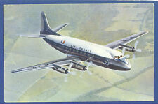 Air FRANCE Airlines Postcard Vickers Viscount