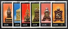 Germany / DDR - 1975 Antique clocks Mi. 2055-60 MNH