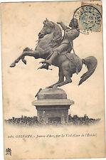 45 - cpa - ORLEANS - Jeanne d'Arc par Le Véel