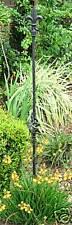PLANT STAKE FLEUR DE LIS IRON FINIAL GARDEN BASKET
