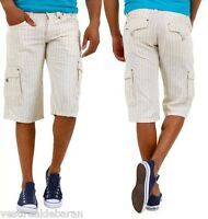 Pantaloni Corti Uomo Shorts Bermuda ABSOLUT JOY ABP3375 A579 Tg S M