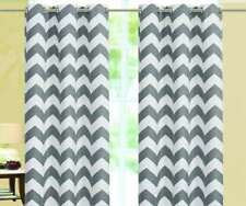 Chevron Insulated 100% Thermal Blackout Grommet Window Curtain All Sizes SALE!!!