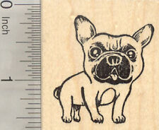 French Bulldog Rubber Stamp, Frenchie, Dog E27514 WM