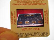More details for original press photo slide negative - motley crue - 1997 - c