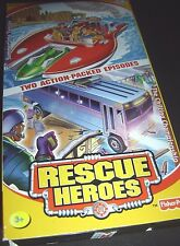 Rescue Heroes Summertime Twister and The Chilling Championship VHS 027084078589