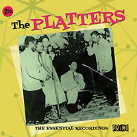 The Platters : The Essential Recordings CD 2 discs (2015) ***NEW*** Great Value