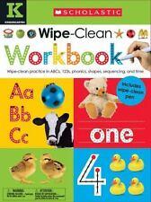 Wipe Clean Workbook: Kindergarten (Scholastic Early Learners)