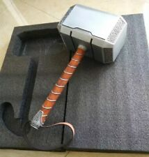 1:1 Full Metal The Avengers Thor Hammer Cosplay Props Mjolnir Gifts Toy Model