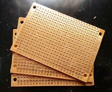 3pcs Single sided perf board PCB DIY Universal Prototype Paper 5x7cm 1.6mm Thick
