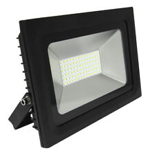 50w LED Floodlight Slimline Outdoor Commercial Garage Forecourt Use 6000K