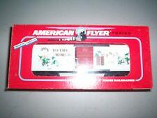 American Flyer #48319  1993 Christmas Box Car