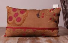 "12.01"" x 20.08"" Pillow Cover Suzani Pillow Vintage FAST Shipment With UPS 11434"