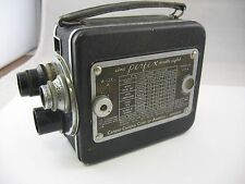Vintage Cine PERFEX Double Eight Model A Motion Picture Camera Candid Camera Crp
