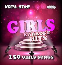 Vocal-star Ragazze KARAOKE CDG disco impostata 150 CANZONI 8 formato CD-R Dischi per Karaoke machine