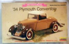 1934 Plymouth Convertible 1/32 Model Kit # 2146 by Lindberg