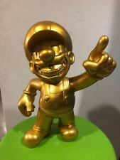 Ron English Popaganda x MINDstyle MC Supersized Mario Grin Gold Version