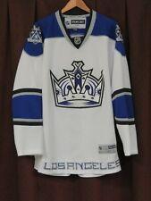 LA Kings Hockey Jersey,NHL,Reebok,Adult XXL,White,Crown Logo,Blank Back