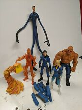 "Fantastic Four 2005 movie marvel legends Toybiz 6"" action figure lot"
