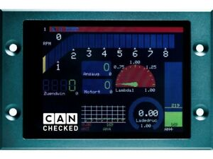 """CANchecked MFD28 - Universal 2.8"""" Display"""