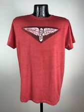 Men's Indy Car Authentic Apparel Red Indianapolis Motor Speedway SS Cotton Tee M