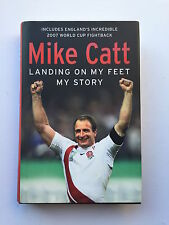 Mike Catt mano firmato Autobiography sbarco sulla mia piedi la mia storia.