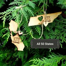 All 50 States Ornaments. Heart & Home. Show love for your place that stole your